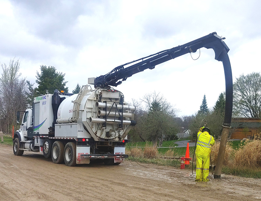 Hydrovac Extraction Service